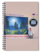 Mountain Moonglow Mural Spiral Notebook