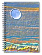 Mountain Moonrise 2 Spiral Notebook