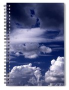 Mountain Of Clouds Spiral Notebook