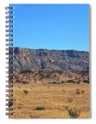 Mountain Over The Plains Spiral Notebook