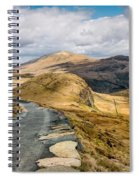 Mountain Path Spiral Notebook