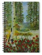 Mountain Poppies Spiral Notebook