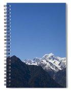 Mountain Profile Spiral Notebook