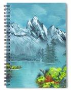 Mountain Retreat Spiral Notebook