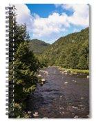 Mountain River Spiral Notebook