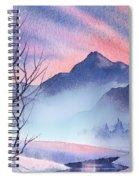 Mountain Silhouette Spiral Notebook