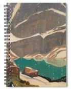 Mountain Solitude Spiral Notebook