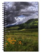 Mountain Storm Spiral Notebook