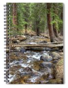 Colorado Mountain Stream 2 Spiral Notebook