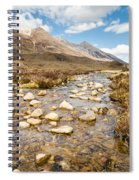 Mountain Stream From Beinn Eighe Spiral Notebook