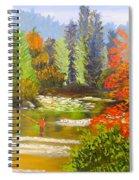 Mountain Stream Spiral Notebook