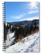 Mountain Sun Spiral Notebook