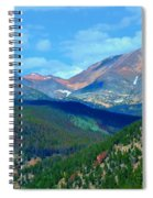 Mountain Top Color Spiral Notebook