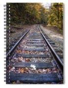 Mountain Tracks Spiral Notebook