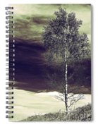 Mountain Tree Spiral Notebook