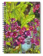 Mountain Wild Flowers Spiral Notebook