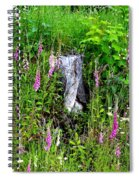 Mountain Wildflowers Spiral Notebook