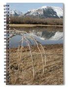Aboriginal Sacred Sweat Lodge - Waterton Lakes Nat. Park, Alberta Spiral Notebook