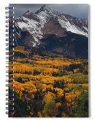 Mountainous Storm Spiral Notebook