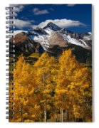 Mountainous Wonders Spiral Notebook
