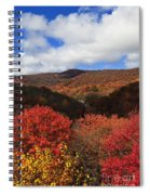 Mountains At Graveyard Fields Spiral Notebook