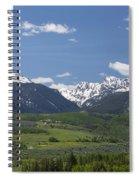 Mountains Co Grouse - New York 2 Spiral Notebook