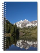 Mountains Co Maroon Bells 12 Spiral Notebook