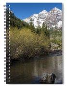 Mountains Co Maroon Bells 14 Spiral Notebook