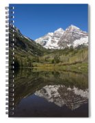 Mountains Co Maroon Bells 16 Spiral Notebook