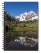Mountains Co Maroon Bells 16 Spiral Notebook
