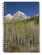 Mountains Co Maroon Bells 23 Spiral Notebook