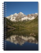 Mountains Co Maroon Bells 7 Spiral Notebook