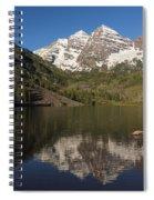Mountains Co Maroon Bells 8 Spiral Notebook
