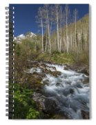 Mountains Co Maroon Creek 4 Spiral Notebook