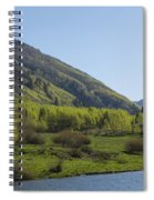 Mountains Co Maroon Lake 2 Spiral Notebook