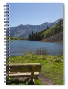 Mountains Co Maroon Lake 3 Spiral Notebook