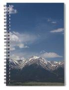 Mountains Co Mt Princeton 1 Spiral Notebook