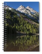 Mountains Co Pyramid 2 Spiral Notebook
