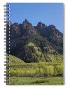 Mountains Co Sievers 2 A Spiral Notebook