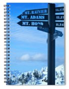 Mountains Everywhere Spiral Notebook