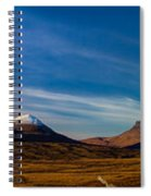 Mountains Of Assynt Panorama Spiral Notebook