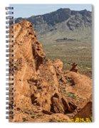 Mountains Of Fire Spiral Notebook