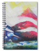 Mountains Of Freedom Two Spiral Notebook