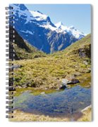 Mountains Of New Zealand Spiral Notebook
