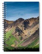 Mountainside Foliage Spiral Notebook