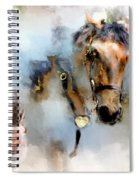 Mounted New York Sunday Spiral Notebook