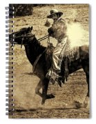 Mounted Shooting Spiral Notebook