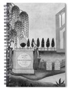 Mourning C1815 Spiral Notebook
