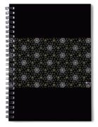 Mourning Weave Spiral Notebook