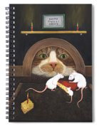 Mouse House Spiral Notebook